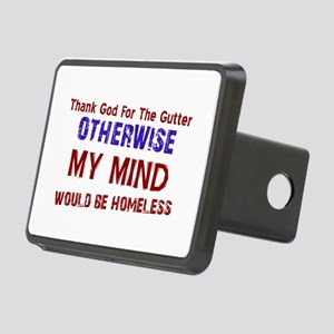 Funny Designs Rectangular Hitch Cover