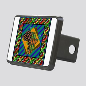 africa12 Rectangular Hitch Cover