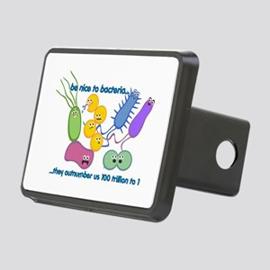 Outnumbered Rectangular Hitch Cover