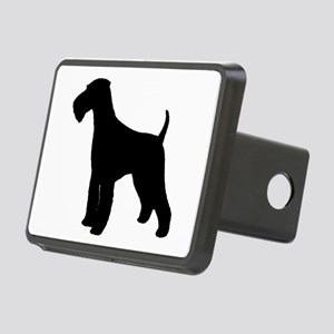 Airedale Terrier Rectangular Hitch Cover