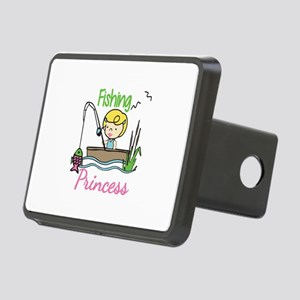 Fishing Princess Hitch Cover