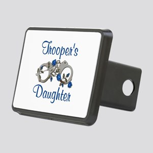 Trooper's Daughter Rectangular Hitch Cover