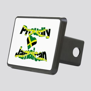 Proud to be Jamaican Rectangular Hitch Cover