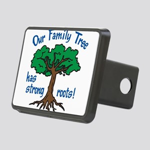 Our Family Tree Rectangular Hitch Cover