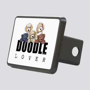 Doodle Lover Rectangular Hitch Cover