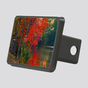 Rope Swings Fall View Rectangular Hitch Cover