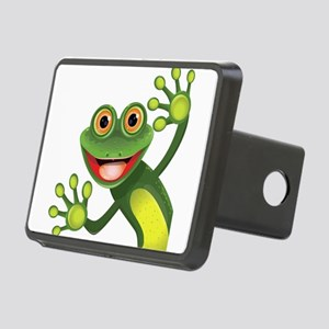 Happy Green Frog Hitch Cover