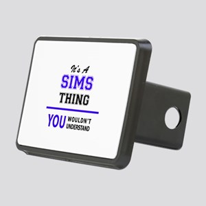 SIMS thing, you wouldn't u Rectangular Hitch Cover