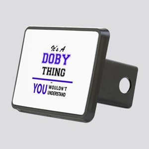 It's DOBY thing, you would Rectangular Hitch Cover
