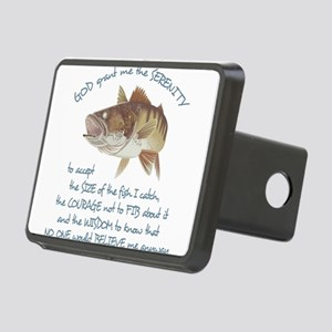 A Fishermans Prayer Rectangular Hitch Cover