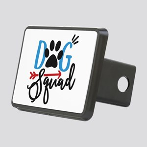 Dog Squad Rectangular Hitch Cover