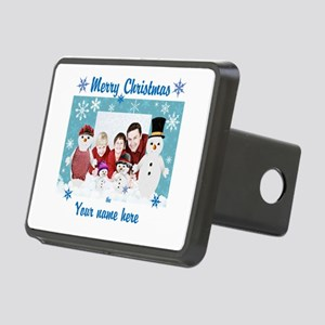 Snowman Christmas Hitch Cover