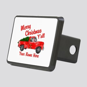 Merry Christmas Yall Hitch Cover