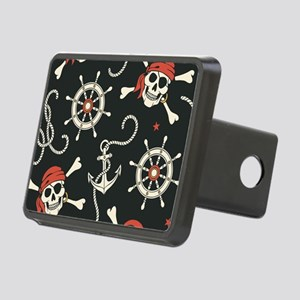 Pirate Skulls Hitch Cover