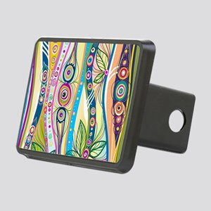 Colorful Flourish Hitch Cover