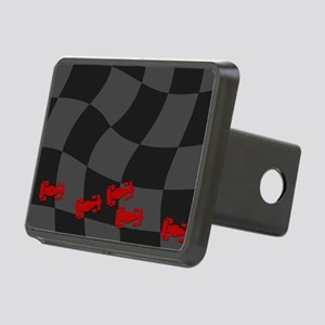 Race Cars Rectangular Hitch Cover