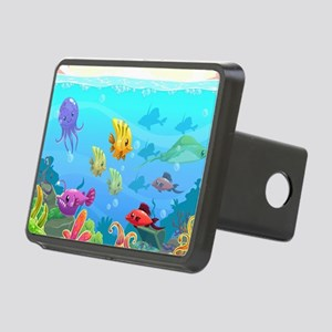 Cute Fish Rectangular Hitch Cover
