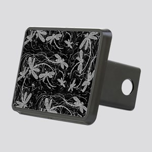Dragonfly Night Flit Rectangular Hitch Cover