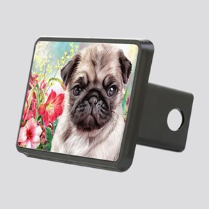 Pug Painting Hitch Cover