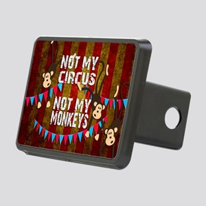 Monkeys NOT My Circus Rectangular Hitch Cover
