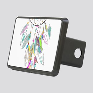 Dreamcatcher Feathers Rectangular Hitch Cover