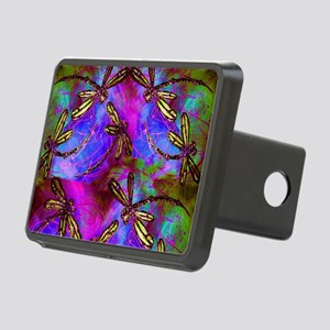 Dragonfly Hippy Flit Rectangular Hitch Cover