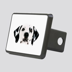 Dalmatian Face Rectangular Hitch Cover