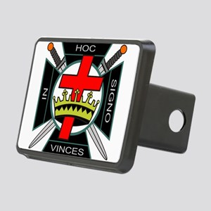 Knight of the Temple Rectangular Hitch Cover