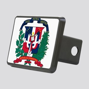 Dominican Republic Coat Of Arms Rectangular Hitch