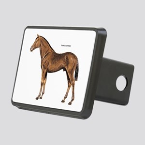 Thoroughbred Horse Rectangular Hitch Cover