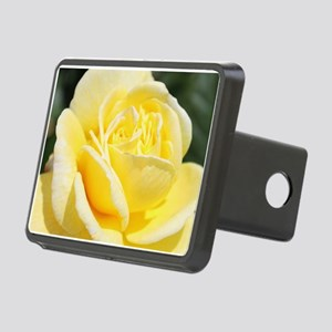 beautiful yellow rose flow Rectangular Hitch Cover