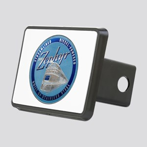 Zephyr engine luggage tag Rectangular Hitch Cover