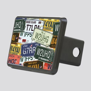 Vintage License Plates Hitch Cover