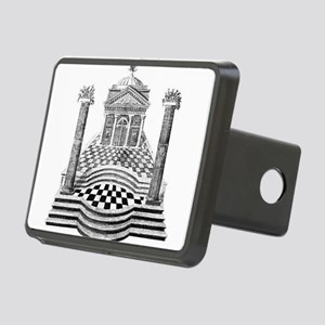 masonicart3 Rectangular Hitch Cover