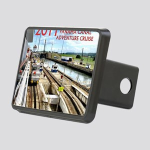 Panama Canal - rect. photo Rectangular Hitch Cover