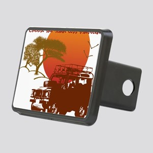 Road Less Traveled - Dark Rectangular Hitch Cover