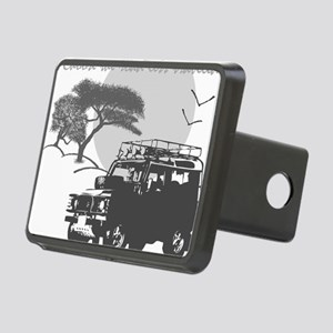 Road Less Traveled - Night Rectangular Hitch Cover