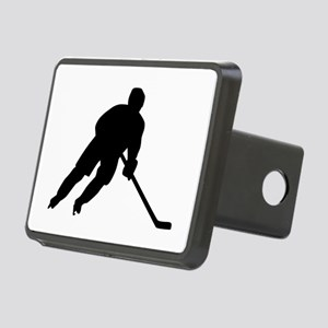 Hockey player Rectangular Hitch Cover