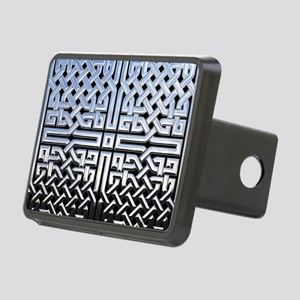 Chrome Celtic Knot Rectangular Hitch Cover