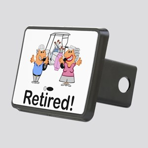 Funny Retirement Golf Coup Rectangular Hitch Cover