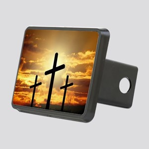 The Cross Rectangular Hitch Cover
