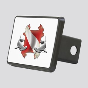 Diver's Key Rectangular Hitch Cover