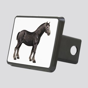 Percheron Horse Rectangular Hitch Cover