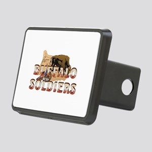 ABH Buffalo Soldiers Rectangular Hitch Cover