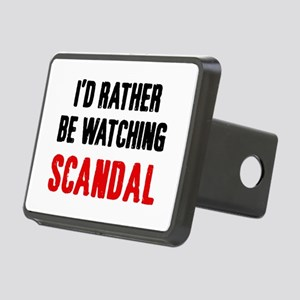 Watching Scandal Rectangular Hitch Cover