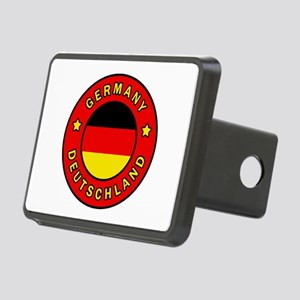 Germany Deutschland Rectangular Hitch Cover