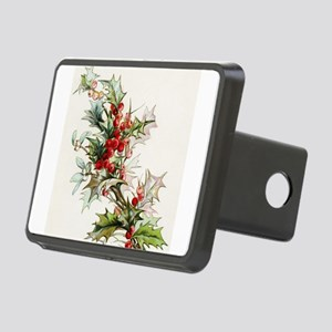 Holly Berries 004 Rectangular Hitch Cover