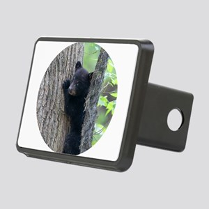 Black Bear Cub Rectangular Hitch Cover
