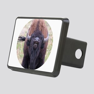 Upset Bull Bison Rectangular Hitch Cover