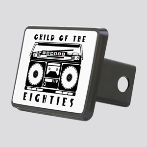 Child of the eighties Rectangular Hitch Cover